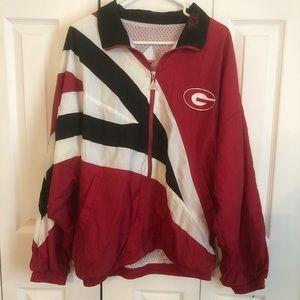 Vintage UGA Windbreaker Jacket